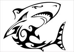 Apparently the other shark tattoo was too abstract...is this one much better? I love it!