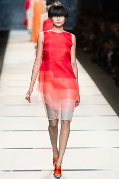 Fendi Spring 2014 RTW - Review - Fashion Week - Runway, Fashion Shows and Collections - Vogue