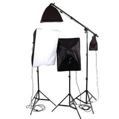 CowboyStudio 3300 Watt Photo Studio Lighting Softbox Video Light Kit Boom Set and Carry Case - VL-9026S-B-85W by CowboyStudio. $195.00. The CowboyStudio 3300 Watt Digital Video Continuous Softbox Lighting Kit/Boom Set is used in the studio to provide any form of lighting above the subject. This product is particularly effective as a hair light or back light, which breaks up the subject from the background. The light socket mounts on standard light stands. You can...