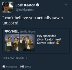 Josh Keaton and Steven Yeun
