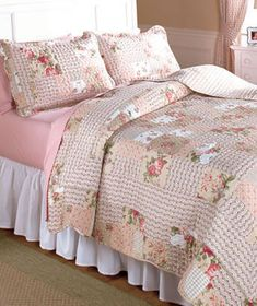 Rosemary Quilt Sets or Window Curtains