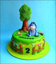 Eeyore Cake — Birthday Cakes