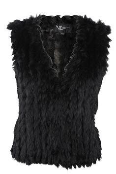 Natures Collection, Freja Vest, Black. Udsalg spar 421 kr.