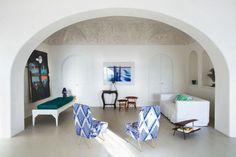 francesca faraone e giuliano dell'uva architetti / villa eremo di montevergine, ischia