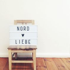 Great light box now available at nordliebe.com