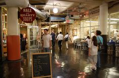 Hale and Hearty Soups - Chelsea Market NYC