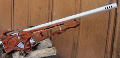 Utah Custom Gunstocks takes an old Mosin Nagant rifle and converts it into this beautiful custom bullpup //