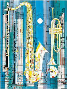 Big City Jazz, ©Viktor Schreckengost