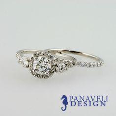 Antique Style 1 60 Ct Round Cut Diamond Engagement Ring Wedding Band 18K Gold   eBay