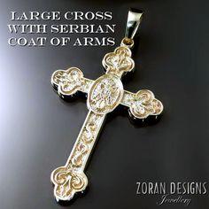 Muski srpski pravoslavni krst - Serbian Orthodox cross for men