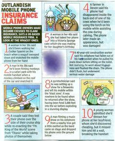 Funny Insurance Claim