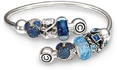Blue Bling Disney - Exclusive Chamilia Disney Collection Beads