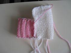 Puikkojen polut 2 : Ohje vauvan tossuihin Baby Booties Knitting Pattern, Knit Baby Booties, Baby Knitting Patterns, Knit Crochet, Crochet Hats, Knitwear, Booty, American Girl Dolls, Slippers Crochet
