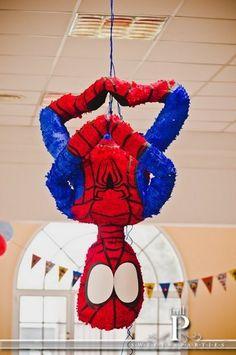 "Photo 5 of 67: Spiderman / Birthday ""Chico Araña - Spidey"" | Catch My Party"
