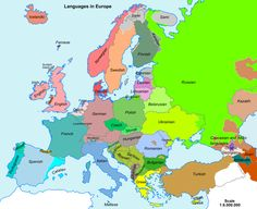 simplified map europe - Google Search