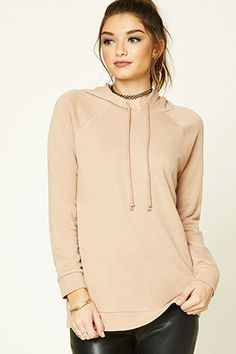 Forever 21 Fall 2016 French Terry Longline Hoodie