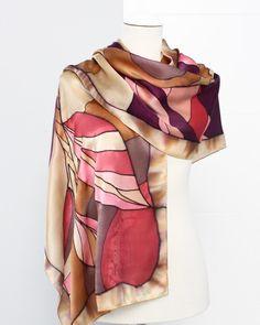 Dani Dimitrova Foulard de seda Satén pintada a mano.#accesoriosdemoda #estiloelegante #scarves #foulards #satin #luxury #handpainted #silk Dani, Fashion, Painted Silk, Classy Style, Squares, Fashion Accessories, Scarf Head, Moda, Fashion Styles