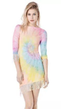 Multi-Color Dresses Size S for Women Pastel Goth, Pastel Style, Goth Look, Pastel Fashion, Unif, Tie Dye, Best Deals, Ebay, Clothes