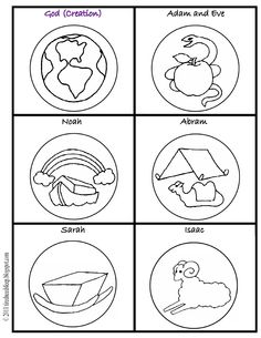 Free Printouts To Color And Make Your Own Jesse Tree