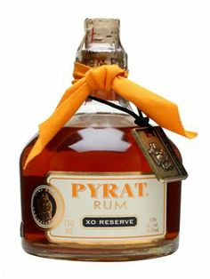 For grumps. Pyrat XO Reserve Rum