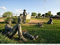 Sculptures at Preston Ridge, Frisco, Texas