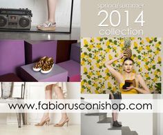 Fabio Rusconi Spring Summer 2014 collection is finally ONLINE. Be the first to meet all the new models of #ballerina, #pumps, #heels and #slippers. Visit http://www.fabiorusconishop.com/ and enjoy the new upcoming season.