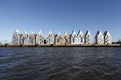 Grand Large, à Dunkerque - MOA : Nacarat/Nexity/Beci - Architecte : Nicolas Michelin - Mentions spéciale à l'Équerre d'Argent 2010 & Pyramide d'Or FPI 2007. (© X.Mouton)