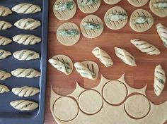 Fingerfood - Fingerfood idea & tips Pastry Recipes, Baking Recipes, Dessert Recipes, Snacks Recipes, Bread Recipes, Pasta Casera, Bread Shaping, Bread Art, Think Food