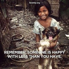 it really is the most eye opening thing when you see kids in third world countries who are genuinely filled with joy, because they know that joy ultimately comes from our Savior, not things. Lord, may we remember this daily and forgive us when we don't.