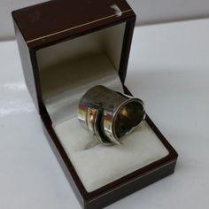 182 mm Besteckschmuck Silberbesteck Ring von BesteckschmuckBaron