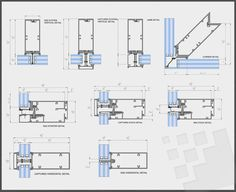 curtain wall working details - بحث Google‏