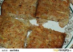 Sekaná z cukety recept - TopRecepty.cz Banana Bread, Desserts, Food, Tailgate Desserts, Deserts, Essen, Postres, Meals, Dessert