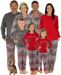 6e48a13f29 Amazon.com  SleepytimePjs Women s Reindeer Knit Top Cuffed Pants Family  Matching Pajamas-2X  Clothing