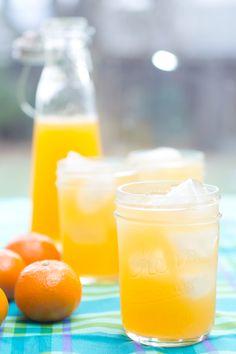 mandarin orange juice  check out the recipe at http://xaieatsalot.com