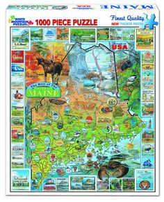 The Best of Maine - 1000 Piece Jigsaw Puzzle