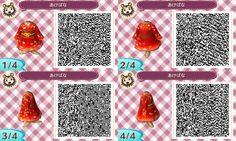 red dress // Animal Crossing: New Leaf QR Codes
