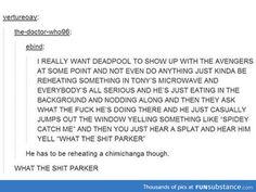 Deadpool in The Avengers