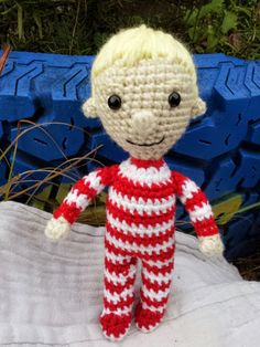Toby by MommyMadeCrochet77 on Etsy I LOVE Labyrinth, such a wonderful story!  Little Toby begged to made and here he is :)  Now I WISH the Goblin King would come and take me away...right now!
