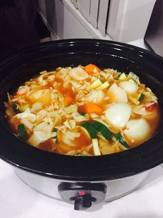 EmailTweet 0 Full-screen Diet Vegetable Soup (peel a pound) Healthy Options, Soup, Vegetable January 4, 2015 0.0 0 Cook: 4 hrs 4 hrs 4 hrs Yields: 4 - 8 Ingredients 1 cabbage 4 carrots 1 zucchini 4 onions 1 celery 1 capsicum 2 packets of chicken noodle soup Directions Cut all vegetables up into medium …
