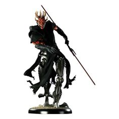 [Star Wars: Premium Format Statue: Darth Maul Cyborg (Product Image)]