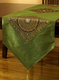 Oriental Harmony Table Runner