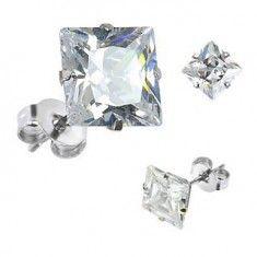 Dámske strieborné náušnice | Šperky Eshop Stud Earrings, Engagement Rings, Jewelry, Enagement Rings, Wedding Rings, Jewlery, Jewerly, Stud Earring, Schmuck