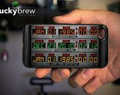 iPhone 4 4s Hard Case - Back to the Future Time Circuits - Phone Cover IP4