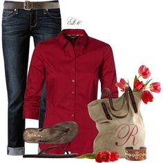 """""""Springs First Blooms"""" by tmlstyle on Polyvore"""
