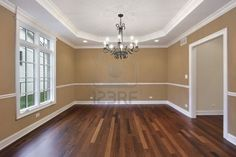 Buckskin - this is the exact paint color I want in our home! Our floors are a little lighter, but very similar.