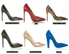 6 Pointy Toe Pump styles for fall and winter #fashion #style #pumps #shoes