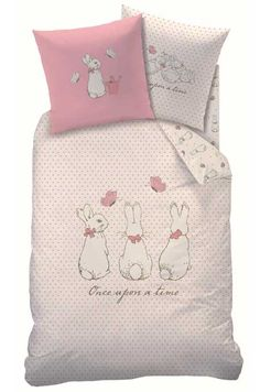 Once Upon A Time - Sweet Bunnies - Children's French Bedding -  Pierre Lapin Il etait une fois