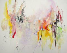 """Saatchi Online Artist Mary Ann Wakeley; Painting, """"As We Speak"""" #art"""