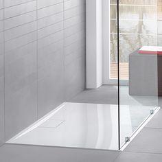 Villeroy & Boch Architectura MetalRim Duschwanne, superflach Randhöhe 1,5 cm weiß Antirutsch