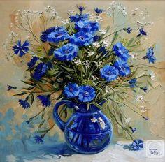 Павлова Мария. Cornflowers